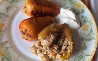 Фаршированный перец в духовке – пошаговые рецепты приготовления с фото