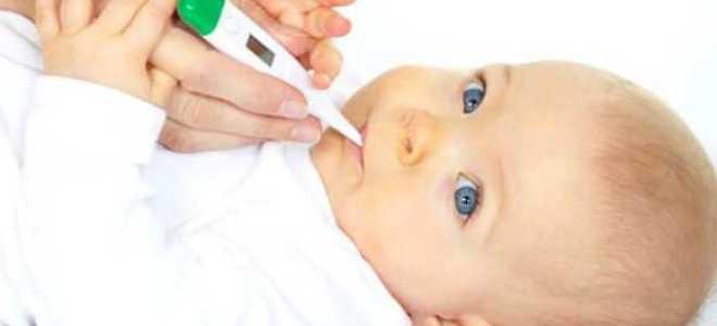 Температура у грудничка: норма у младенца, причины и симптомы повышения