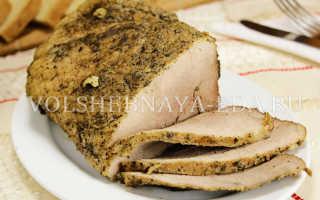 Буженина в домашних условиях из свинины: как приготовить мясо