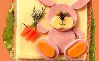 Оригинальные бутерброды для детей: как приготовить к праздничному столу
