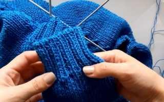 Как закончить вязание спицами шапки, шарфа и резинки красиво