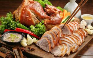 Свиная рулька запеченная в духовке: рецепты приготовления с фото и видео