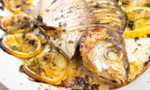 Карась в духовке – рецепты приготовления запеченной вкусной рыбы с фото