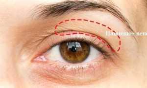 Как сделать макияж для глаз с нависшими веками, фото и видео