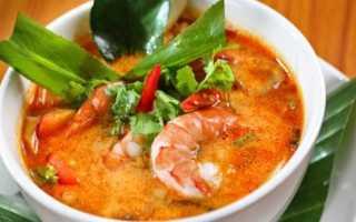 Суп Том-ям: рецепты с курицей, морепродуктами, кокосовым молоком и лемонграссом