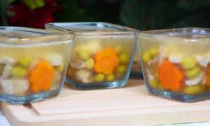 Заливное из курицы – как приготовить по пошаговым рецептам с фото с желатином или без