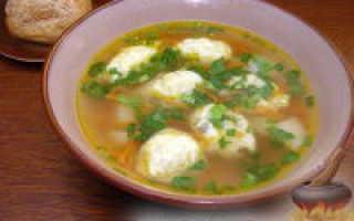 Суп с галушками: как приготовить пошагово с фото