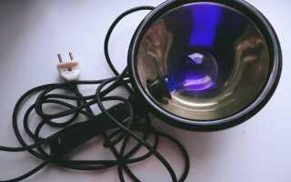 Синяя лампа Минина – инструкция по применению: принцип работы, противопоказания, цена и отзывы о лечении