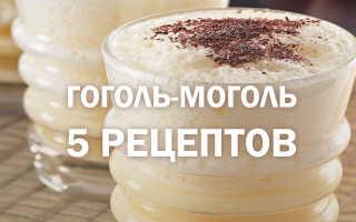 Гоголь-моголь – как приготовить в домашних условиях для детей и алкогольный по рецептам с фото