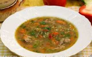 Суп из баранины: приготовление с фото