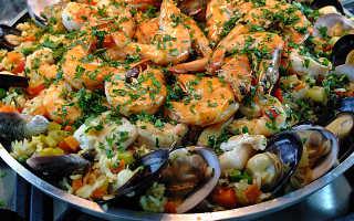 Паэлья с морепродуктами – как приготовить в домашних условиях испанское блюдо по рецептам с фото