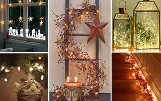 Рождественские идеи декора для дома