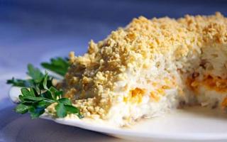 Салаты из печени трески: как приготовить вкусно