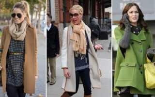 Как завязать шарф на пальто: как правильно сочетать аксессуар с Вашим гардеробом