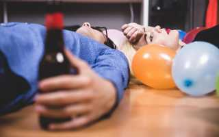Как избавиться от похмелья быстро в домашних условиях