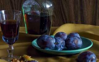 Вино из сливы в домашних условиях – как быстро и вкусно готовить десертное и крепленое