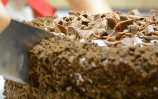 Торт Черный принц домашний пошагово с фото