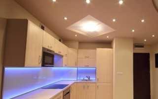Светильники для натяжных потолков: как выбрать для интерьера