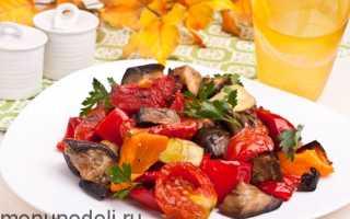 Запеченные овощи в духовке: как вкусно приготовить
