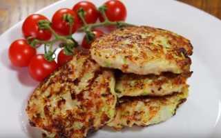 Рецепты кабачковых котлет с фаршем и манкой