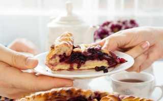 Клубничный пирог – рецепты приготовления начинки из протертых, свежих или замороженных ягод и теста