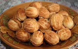 Рецепт орешков с вареной сгущенкой в орешнице: пошаговое приготовление выпечки