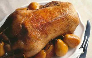 Как приготовить гуся в духовке: рецепты