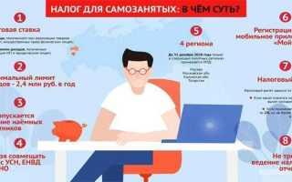 Закон о самозанятых с – основные положения и размер налога