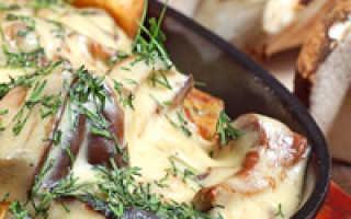 Картошка с грибами в мультиварке: как приготовить вкусное блюдо