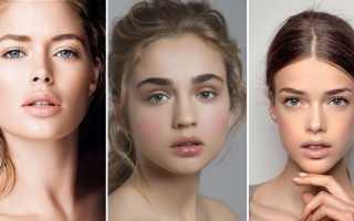 Нюдовый макияж для карих глаз: цвета и оттенки