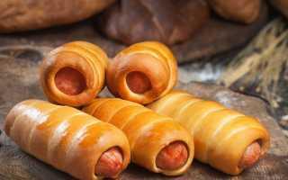 Сосиски в тесте в духовке: как приготовить пошагово