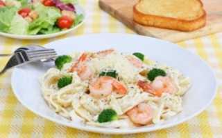 Паста с креветками: как приготовить вкусное блюдо