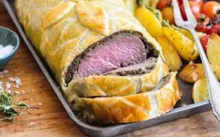 Мясо в тесте в духовке: как запечь блюдо из свинины и говядины