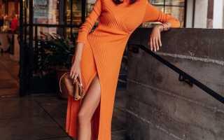 Без компромиссов: модные тёплые платья на зиму 2020