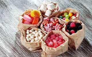Низкокалорийные сладости: список продуктов и рецепты