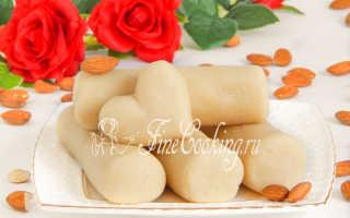 Марципан – что это такое и состав, как готовить дома для изготовления конфет, фигурок и тортов