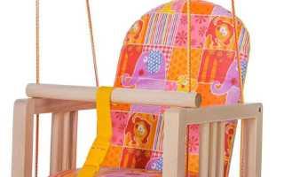 Качели гнездо – как сделать для ребенка самостоятельно и рейтинг лучших изделий от производителей с ценами